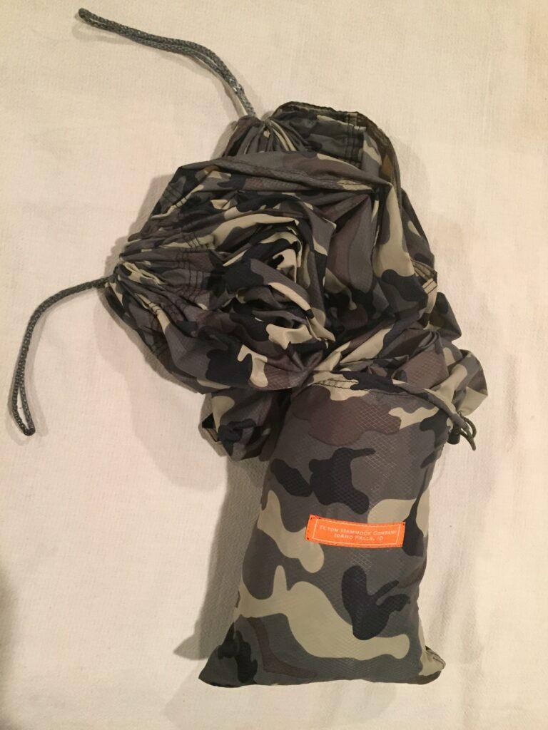 camo hammock bag by Teton hammock company