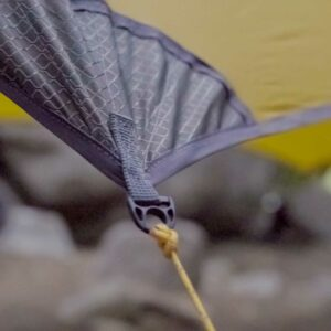 cluse-up of hammock gear