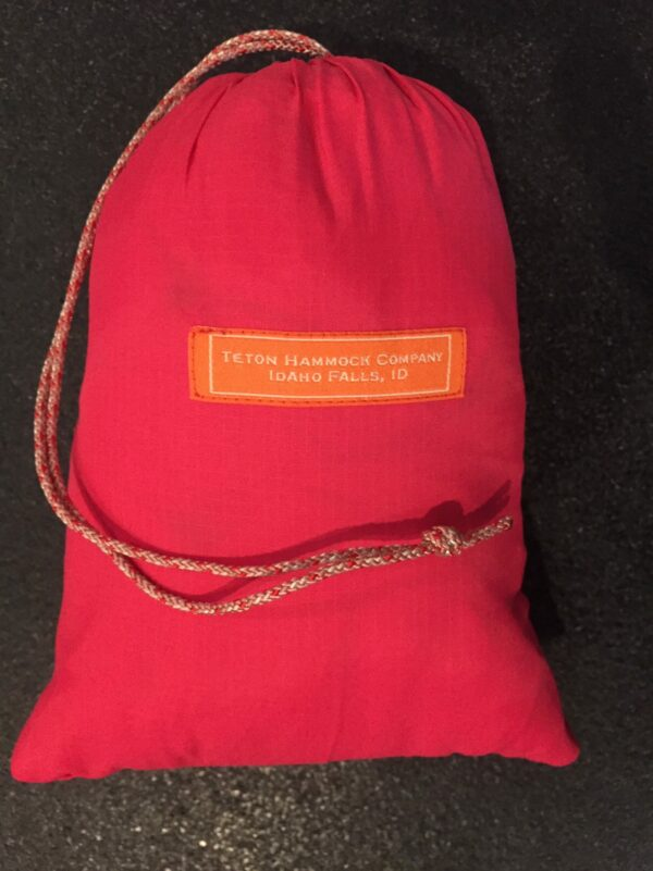 red hammock bag by Teton hammock company